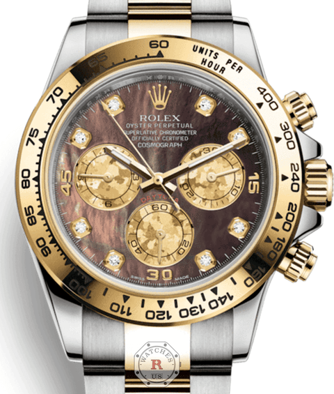 Rolex COSMOGRAPH DAYTONA Steel and Yellow Gold 116503 - Watches R us