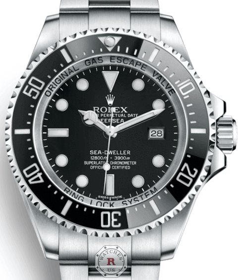 ROLEX SEA-DWELLER DEEPSEA STEEL 116660 - Watches R us