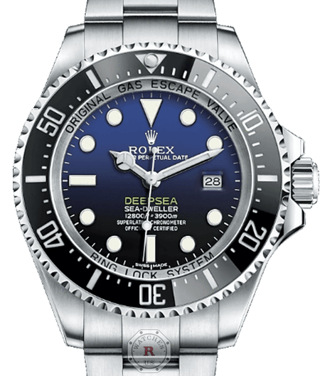 Rolex SEA-DWELLER Blue 116660 - Watches R us