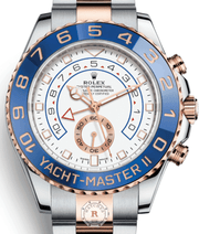 Rolex YACHT-MASTER II Steel Everose Gold 116681 - Watches R us