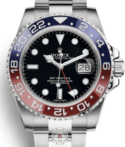 Rolex GMT-MASTER II White Gold 116719BLRO - Watches R us