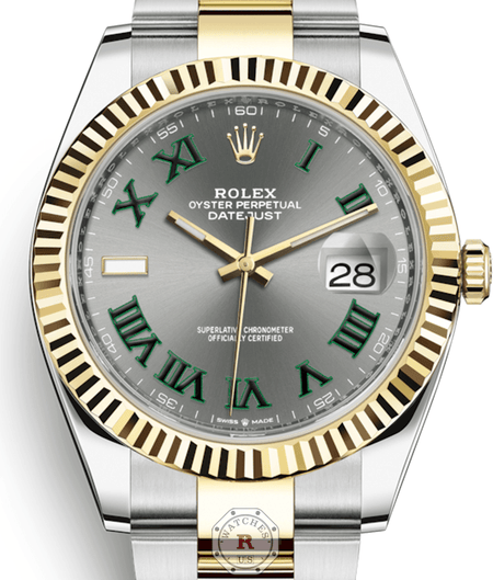 Rolex DATEJUST Steel and Yellow Gold 41mm 126333 - Watches R us