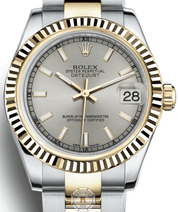 Rolex DATEJUST 31 Silver Dial 178273 - Watches R us