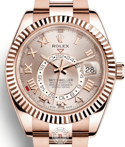 Rolex SKY-DWELLER Everose Gold 326935 - Watches R us