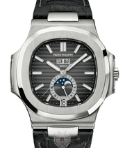 Patek Phillipe 5726A - Nautilus  Self-winding Annual Calendar, Moon phases. - Watches R us