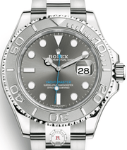 Rolex YACHT-MASTER 40 Steel and Platinum 116622 - Watches R us