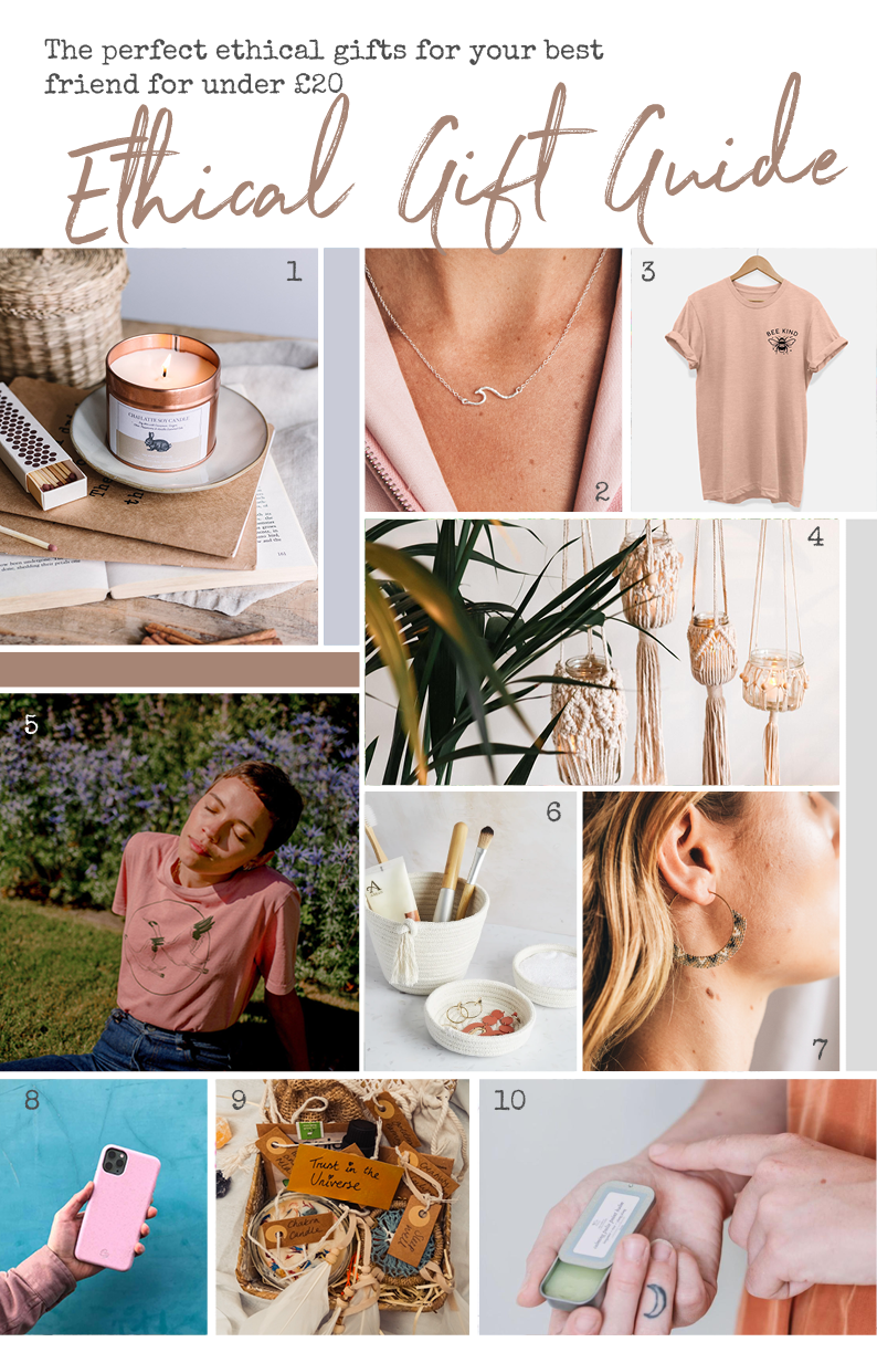 Ethical Gift Guide For Your Bestie (Under £20)