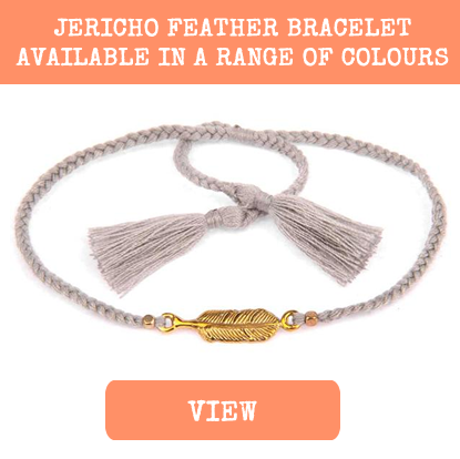 jericho feather festival bracelet