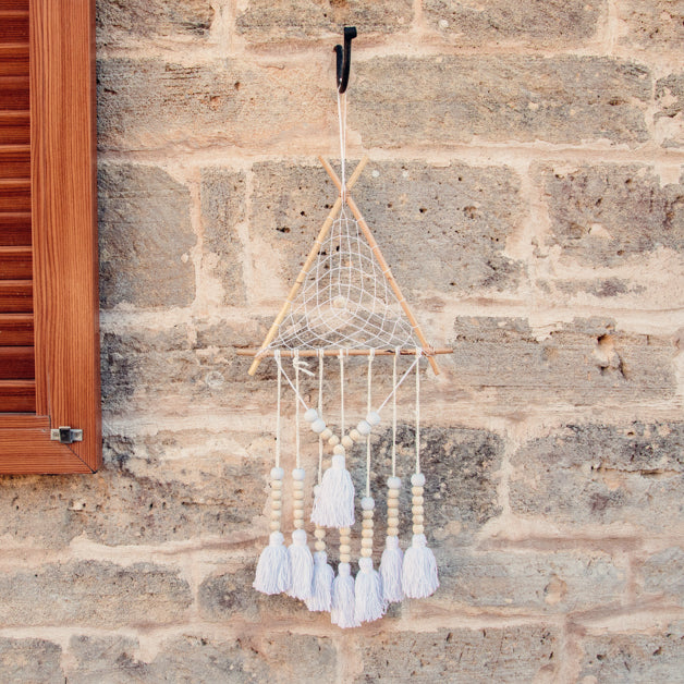 Chinook Handmade Dream Catcher Bamboo-Dreamcatcher-Dream catchers-Dreamcatchers-Dream Catchers UK-Large Dream Catcher UK