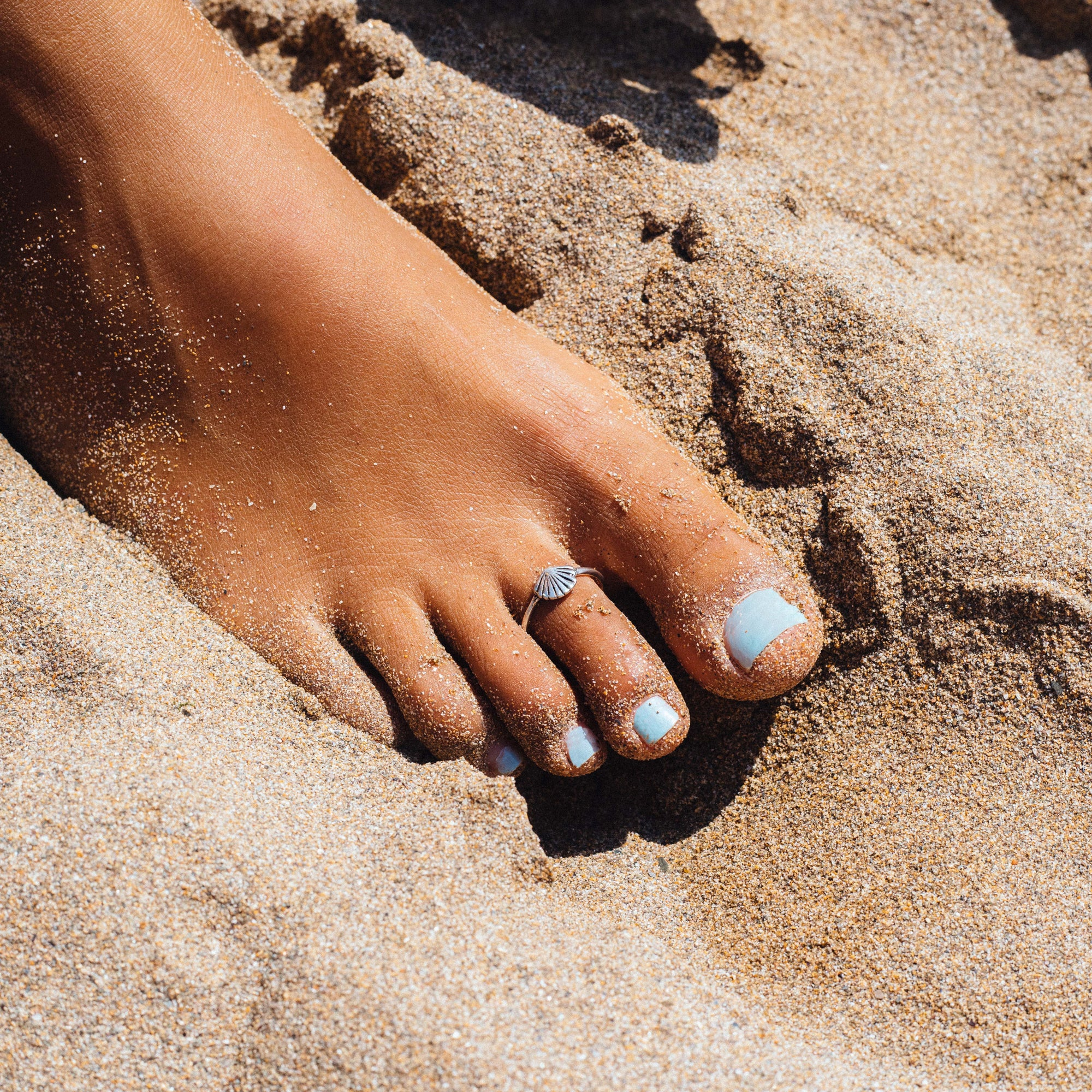 Shell Beach Toe Ring