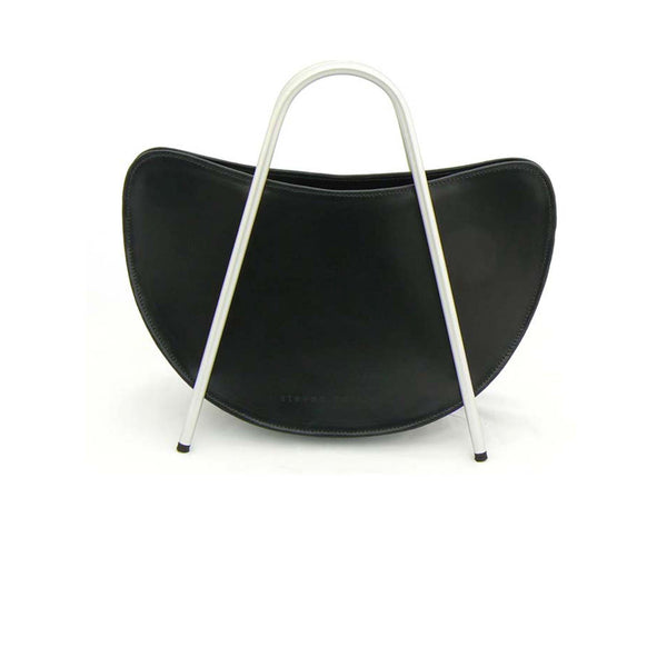 Top Handle Bag with Metal Handles