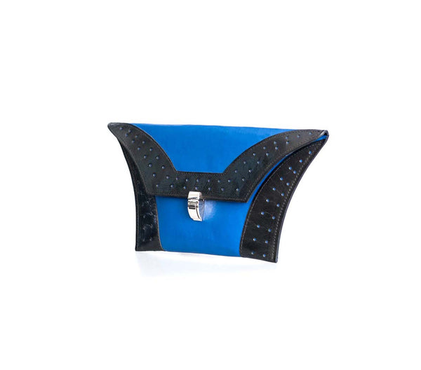 Cobalt Blue Clutch Bag