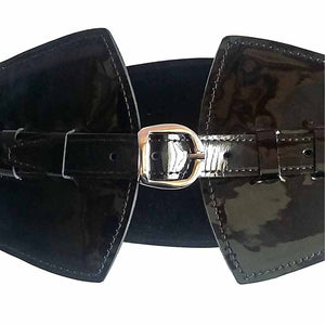 Corsage Belt High Waist Leather Belt