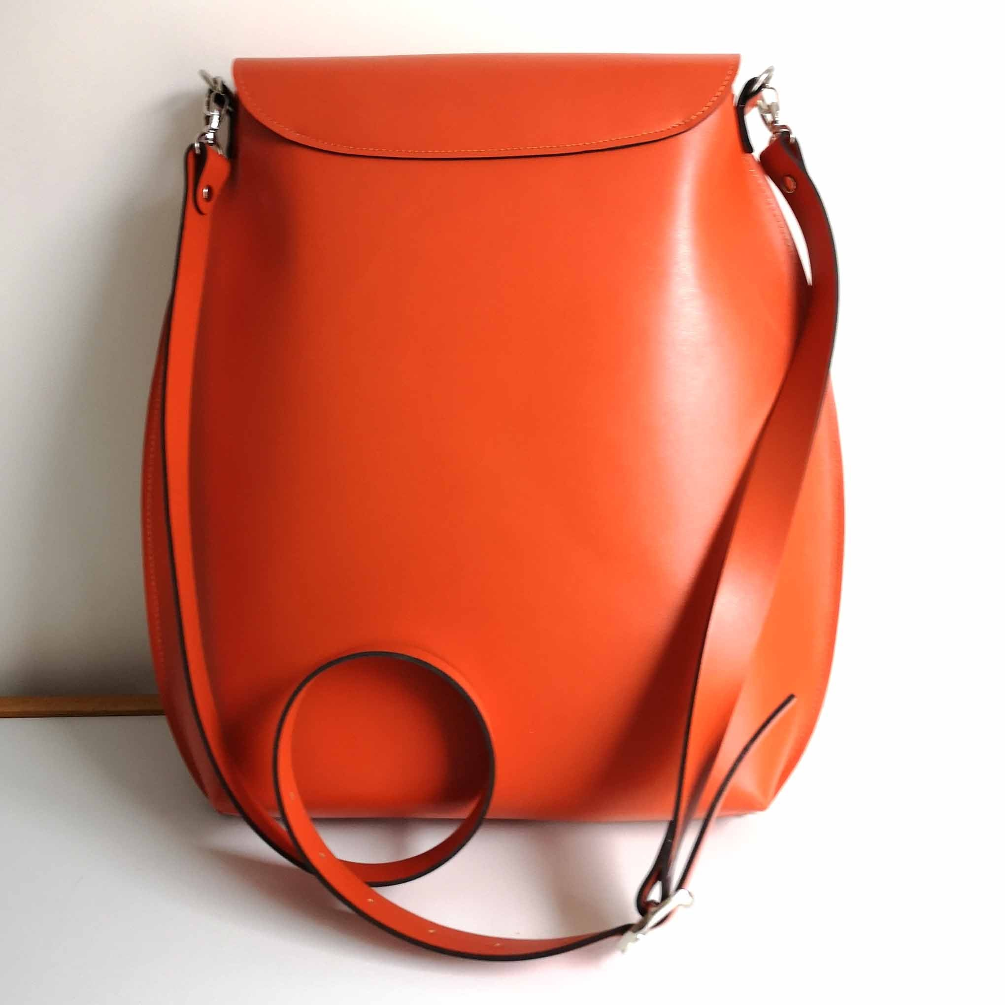 Large Orange Crossbody Bag