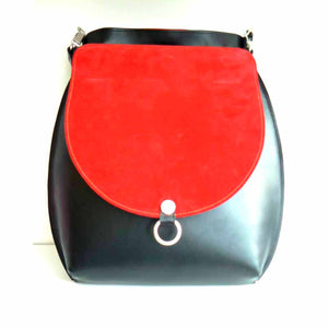 Large Two Tone Shoulder Bag