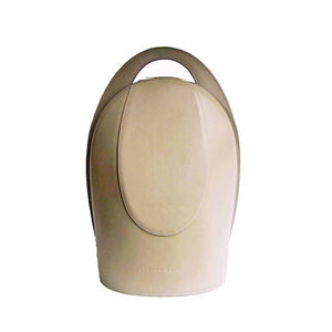Light Sand Leather Backpack