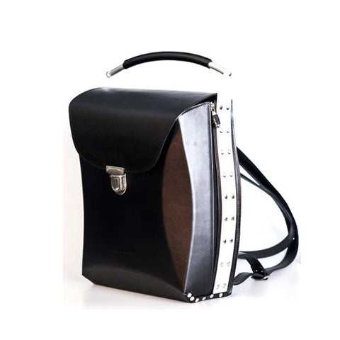 Men's Leather Backpack Laptop Case