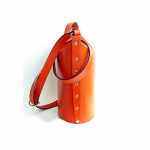 Orange Bucket Bag