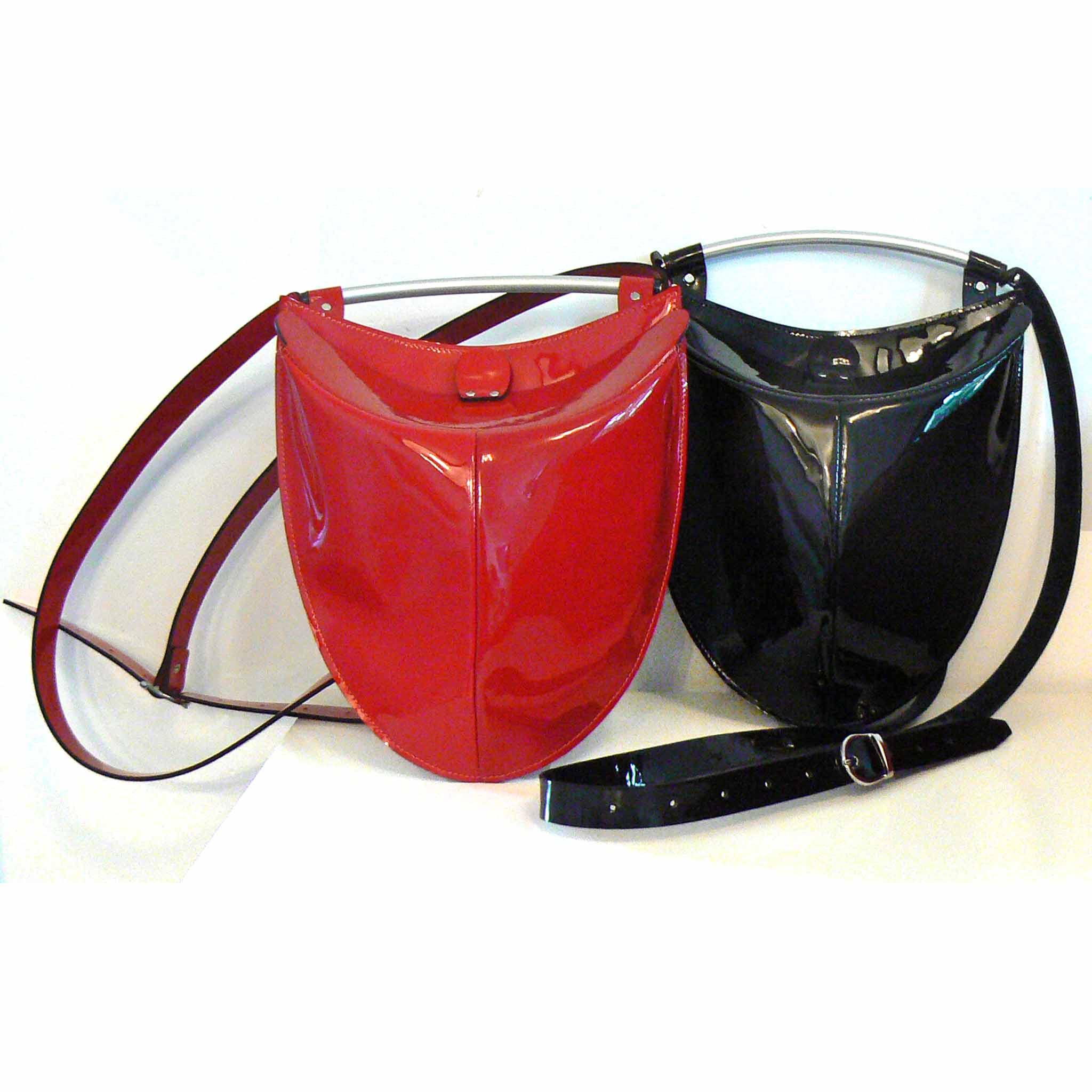 Cross-body Bag with Metal Handle