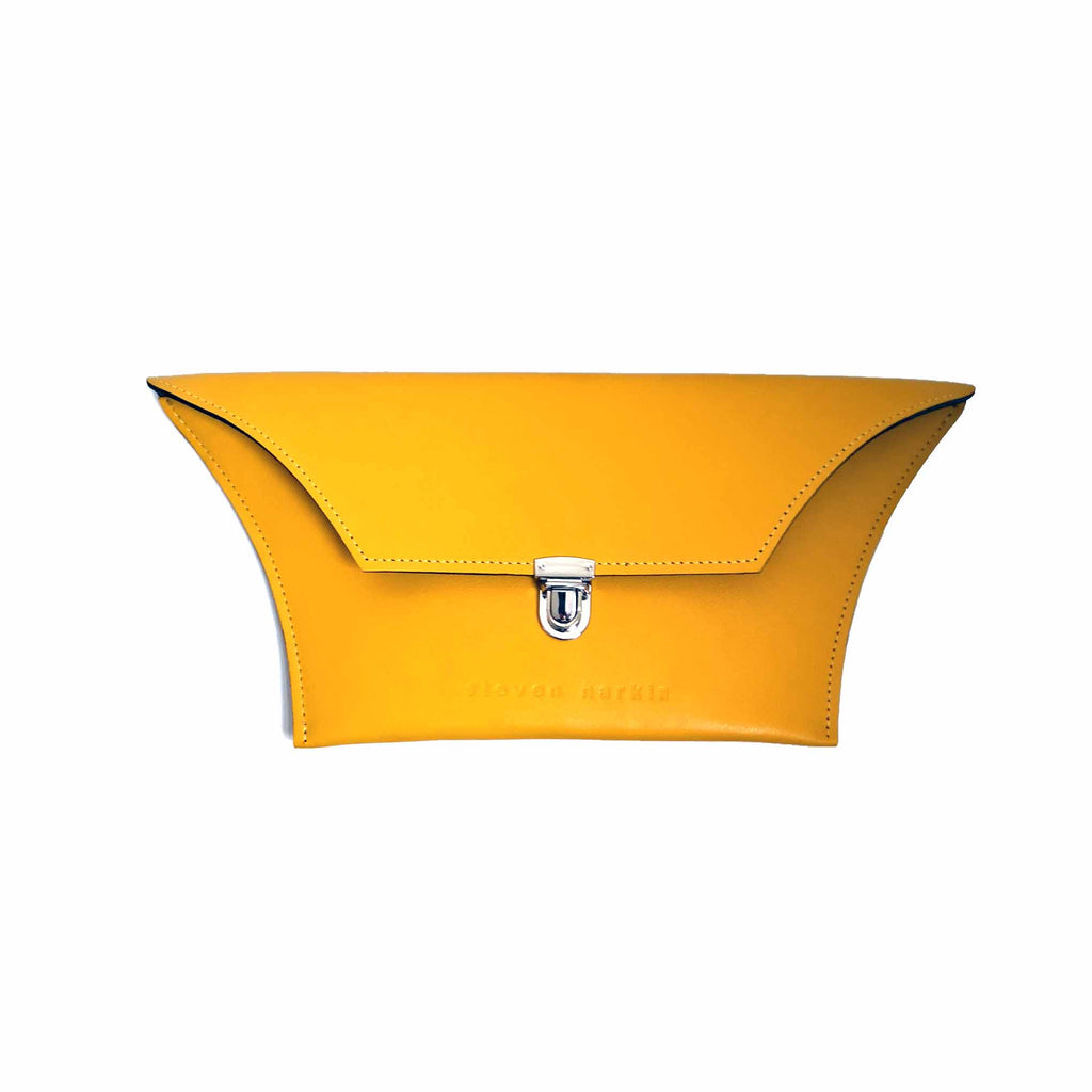 Yellow Clutch Bag