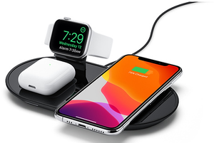 Mophie 3-in-1 Charging Dock (black)