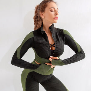 Army Yoga Tracksuit