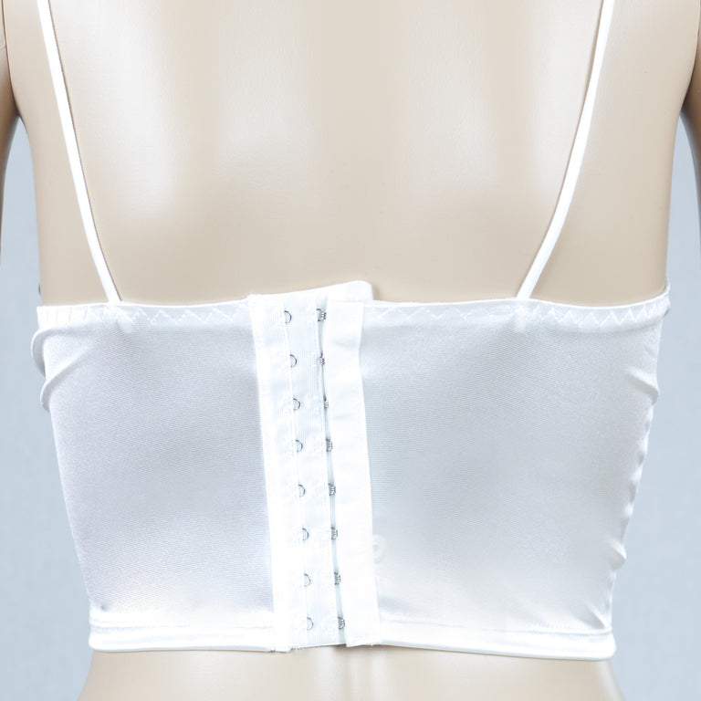 Venice Crop Top | White