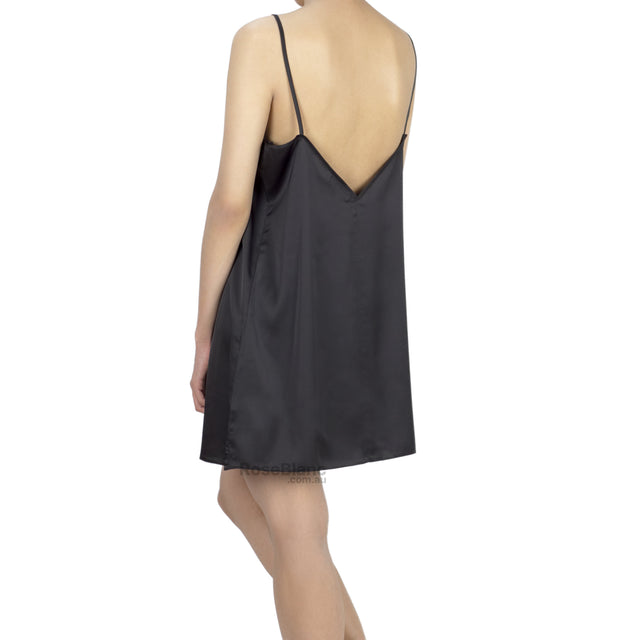 Charming Lady Slip - Black