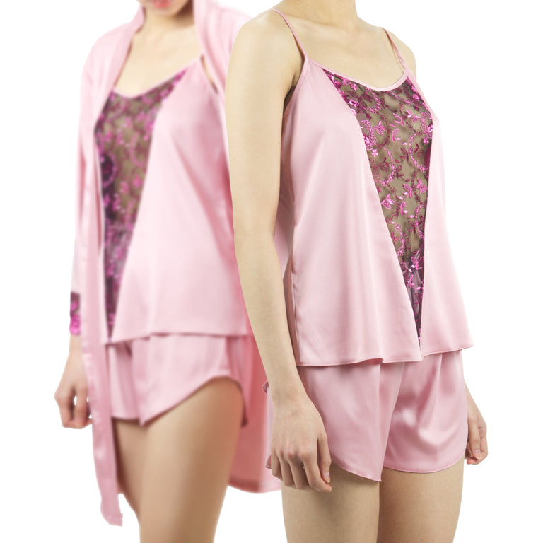 Luxe Shortie Premium Set | Blushing Rose No.2