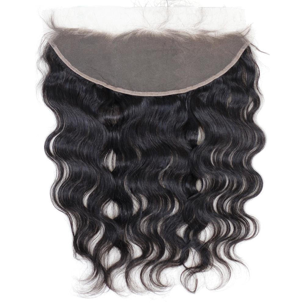 Lace frontale body wave noir