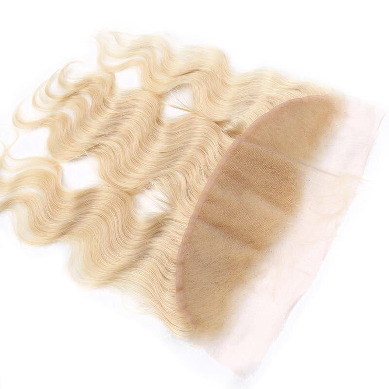 Lace Frontale Body Wave Blond #613 - Cheveux Naturel - Cheveux Humain