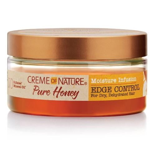 Crème of nature pure honey edge control