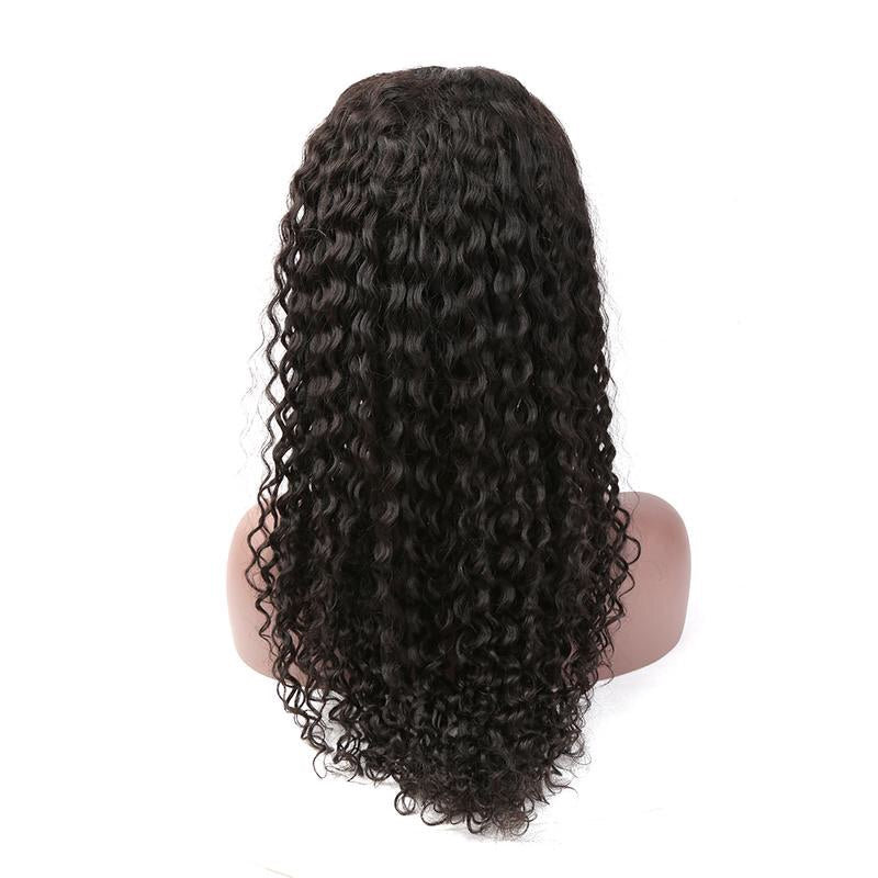 Perruque Lace Frontale Deep Curly - Cheveux Naturel - Cheveux Humain