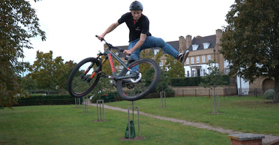 How to Tailwhip a Mountain Bike?