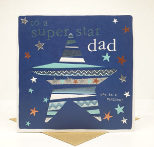 To A Super Star Dad