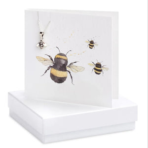 Bumble Bee Necklace Card