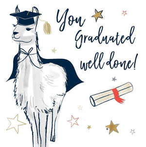 You Graduated, Well Done!