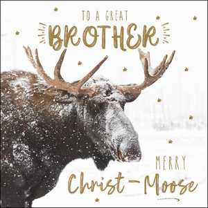 Merry Christ-Moose Brother