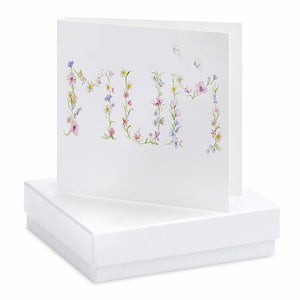Mum Earrings Card