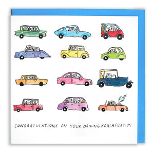 Congratulations On Your Driving Koalafication