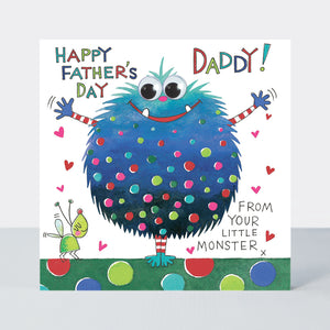 Father's Day Eye Eye – From Your Little Monster