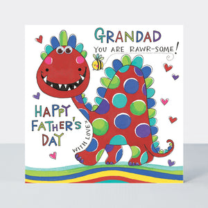Father's Day Eye Eye – Grandad You Are Rawr-Some!