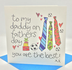 To My Daddy On Fathers Day