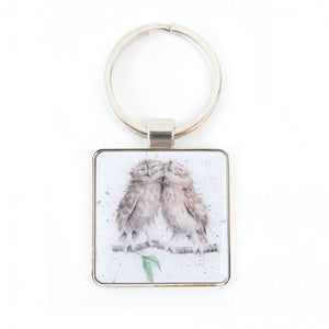 Birds Of A Feather Keyring