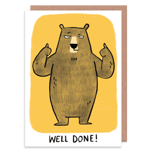 Well Done Bear