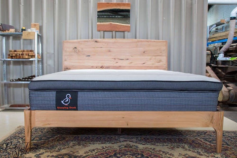 Beautiful Kind Size Bed Frame - solid wood