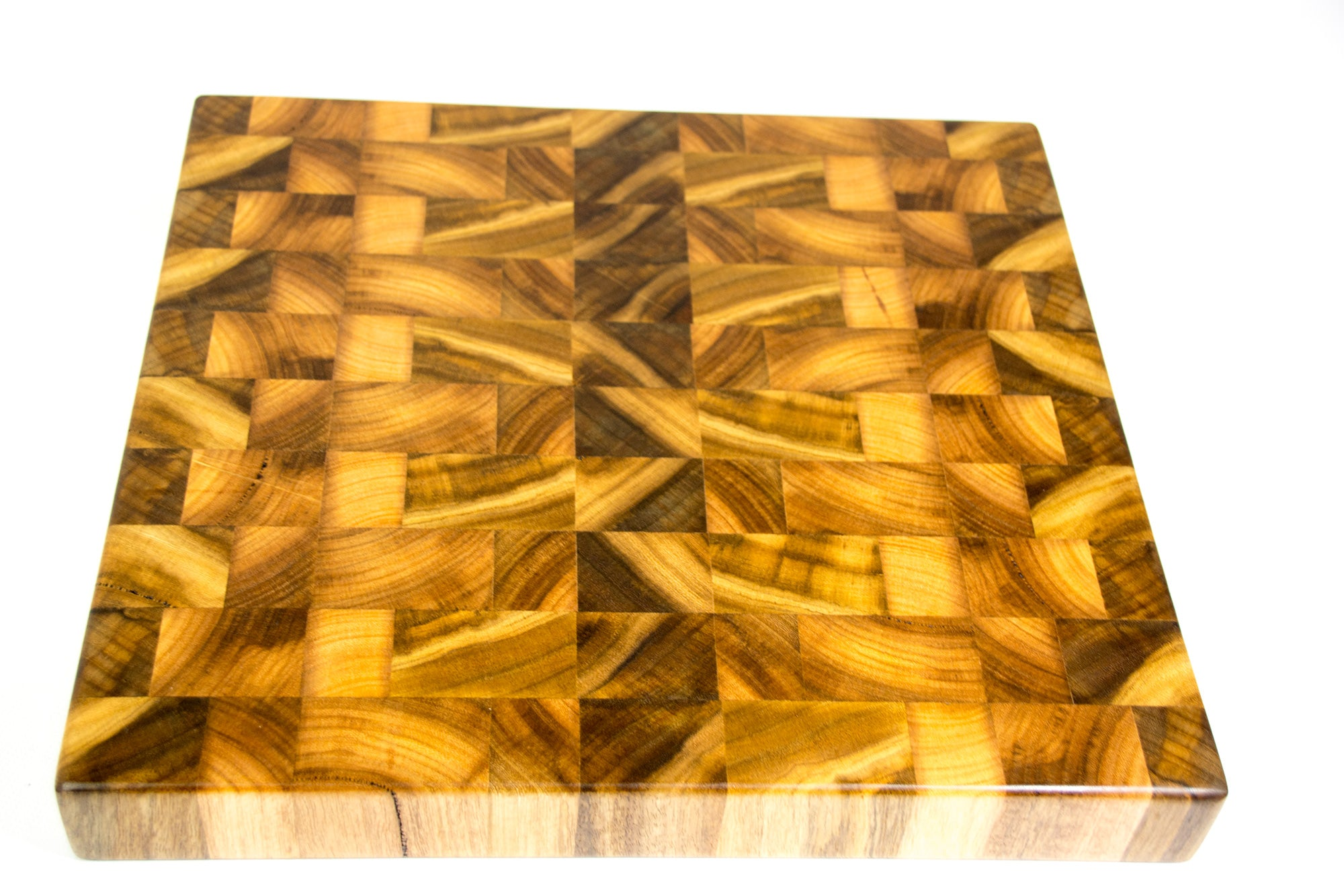 Marri End-Grain Chopping Board / Butcher Block 385x335x50mm (Western Australia Marri)