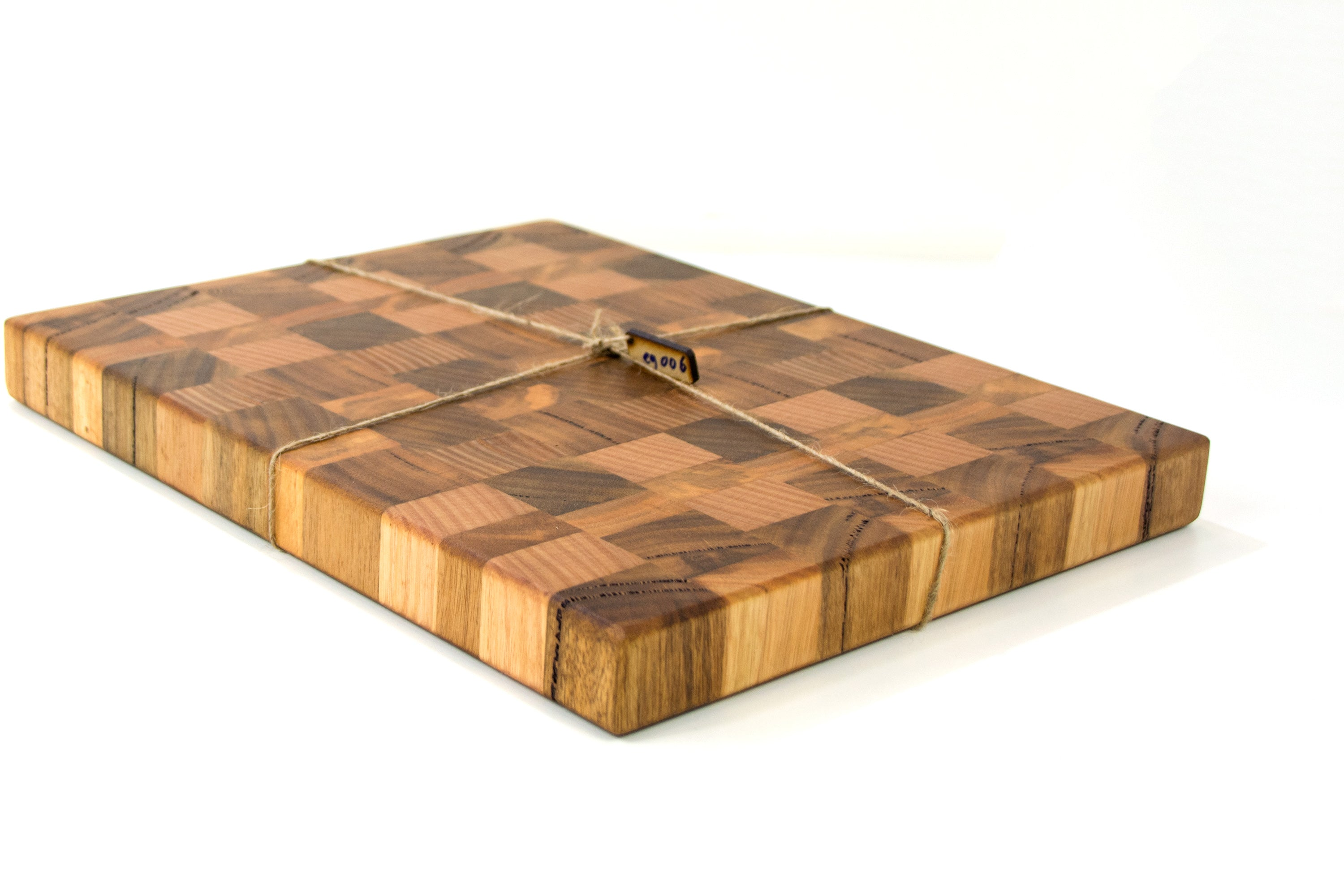 Hand crafted chopping board made in wa free shipping periodic end grain chopping board periodic furniture studio urtaz Image collections