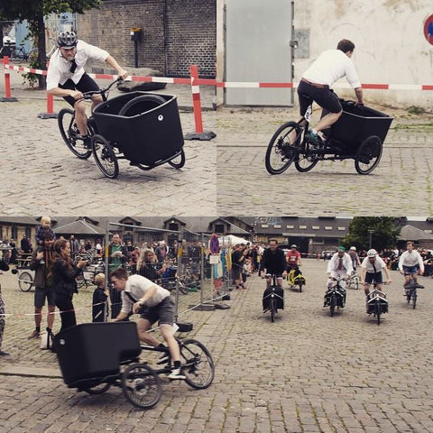 Mk1-E built to tilt Technologie- Best Cargo bike