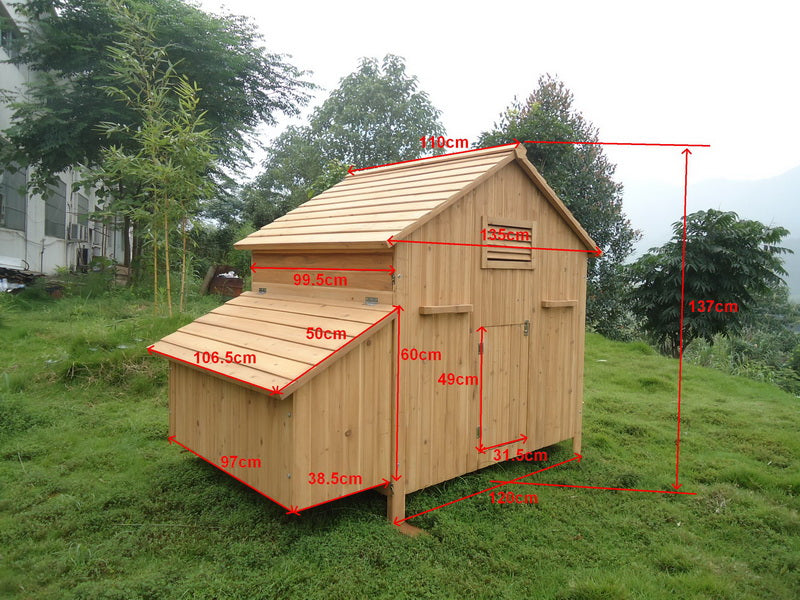 6 to 12 Hen Chicken Coop - CC002H